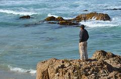 Smoking on the water (afagen) Tags: california pacificgrove asilomarstatebeach montereypeninsula asilomar beach pacificocean ocean