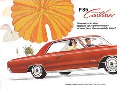 1964 Oldsmobile Cutlass (Hugo-90) Tags: 1964 olds oldsmobile f85 cutlass ads advertising brochure car auto automobile