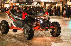 Tailights (wyojones) Tags: wyoming cody christmasparade sheridanavenue snow cold sidebyside sxs offroadvehicle utv rov lights christmasseason parade man driver tailights bokeh wyojones