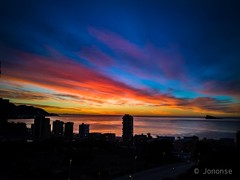 Cielo arco iris    #benidorm #alicante #amanecer #poniente #sunrise #dawn #sun #sea #beach #playa #mediterranean #island #sky #bluehour #goldenhour #blue #silence #silhouette #silueta #landscape #cityscape #seashore (Jononse) Tags: sky sunrise alicante bluehour island sun sea benidorm mediterranean playa silueta goldenhour blue seashore poniente beach amanecer silhouette cityscape dawn silence landscape