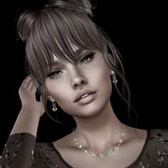 Stars & Pearls (Algezares (III)) Tags: jewelry jewellery heartsdale secondlife sensual maitreya mesh genus lingerie lace lencería headshot