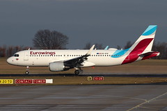 OE-IEW (20.12.2018) Airline: Eurowings Europe Typ: Airbus A320-214 (maxerfspotter) Tags: flugzeug outdoor flughafenerfurtweimar airport erfurt edde erf planespotting airplane oeiew flight training ew ewg eurowings europe a320 airbus touch go jet