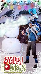 How to build a snowman (Shizucska) Tags: sfm paladins evie teamfortress scout crossover videogames christmas winter holiday snowman sourcefilmmaker