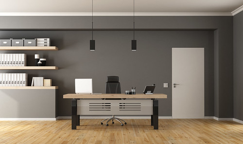 Contemporary office room