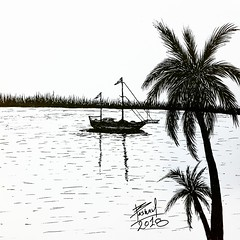 My artwork .. Ink pen .  #ship #shipping #boat #inkart #inkdrawings #mydrawing #drawphoto #drawphotography #drawingpicture ‏#art #artist #artwork #artsglobal #abstractartist #illustration #drawing #abstractface #talnts #sketchbook #talented (basam1989irq) Tags: illustration boat sketchbook abstractface mydrawing drawphoto drawphotography ship artist artwork shipping drawing talnts inkdrawings abstractartist art talented artsglobal drawingpicture inkart