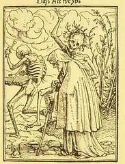 This image is taken from Page 89 of Der Todtentanz von H. Holbein, nach dem Exemplare der ersten Ausgabe im Kgl. Kupferstich-Cabinet zu Berlin in Lichtdruck nachgebildet (Medical Heritage Library, Inc.) Tags: dance death rcplondon ukmhl medicalheritagelibrary europeanlibraries date1879 idb22651263