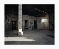 Ehrenfeld, 2018 (Darius Urbanek) Tags: 120 65mm 6x7 ehrenfeld kodak mamiya7 portra400 abandoned analog color decay film mediumformat
