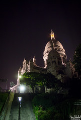 sacré cœur (marc.schoebel) Tags: sacré cœur paris france montmartre basilique nuit night escaliers stairs