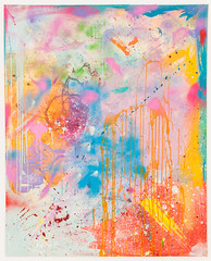 DSC_0997, 101cm x 128cm, Oils & Acrylics on Canvas, Summer  2018 (DCleggArt) Tags: painting art fine chaos colour process catharsis summer transition pastel fineart paint