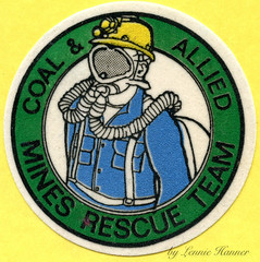 Coal & Allied Mine Rescue Team Patch (Coalminer5) Tags: coalmining coalminer coalmemorabilia coalcollectibles clothpatch sewonpatch mining miningmemorabilia miningcollectible miningartifacts minerescue smokeeaters smokeeater draegerman dragerman hardhat