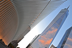Oculus & One World Trade Center WTC Manhattan New York City NY P00020 DSC_4158 (incognito7nyc) Tags: newyork newyorkcity nyc ny nyny manhattan freedomtower lowermanhattan citylights view oculus trainstation wtc 1wtc oneworldtradecenter worldtradecenter skyscraper tower graffiti cityofdreams nyccityofdreams cityofdreamsnyc empirestate empirestateofmind nycstateofmind newyorkstateofmind nikon dslr d3100 nikond3100 newyorklife newyorkdream newyorkdreams onewtc sunset loveny ilovenewyork lovenyc