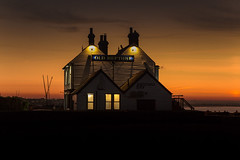 Whitstable pearl (stocks photography.) Tags: michaelmarsh whitstable photographer neptune beach coast seaside whitstablepearl sunset dusk theoldneptune photography pub appreciatewhatyouhave