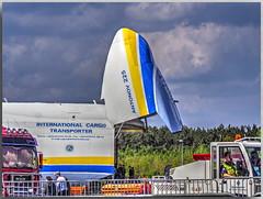 "Antonow An-225 ""Mrija"" (Peterspixel from Peter Althoff) Tags: antonow an225 mrija антонов ан225 мрія sowjetunion airplane aircraft ila ilaberlin2018 flugzeug flughafenberlinbrandenburg ber berlin deutschland"