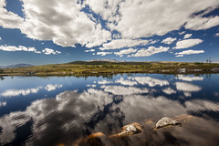 Clouds over Blåfjellet (Burminordlicht) Tags: clouds lierne wildernes wildnis nature norway norwegen mountains villmark lake lakeside reflection reflections cloudy summer summerday