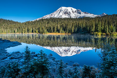 Mount Rainier (jeff's pixels) Tags: mountrainier mountrainiernationalpark mountain hiking trail outdoors pnw washington bird bus plane airplane nature nikon d850 nikkor landscape reflection autumn colors nationalpark beauty