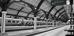 Travelling To 2019 (brandsvig) Tags: malmö 2019 newyear nyttår railway travel resa järnväg station centralen malmöc bw happynewyear gottnyttår centralstation departure avgång skåne sverige sweden train tåg