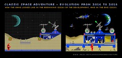 Classic Space Adventure - Evolution From 2016 To 2018 (Johan Alexanderson (Jalex)) Tags: space classicspace classicspaceadventure lego afol moc game html5 browsergame legogame webgame legospace