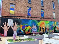 OH Toronto - Mural 2 (scottamus) Tags: toronto ohio jeffersoncounty mural painting art building graffiti
