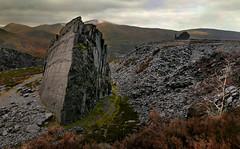 Dolbadarn's anvil (PentlandPirate of the North) Tags: dinorwic gwynedd snowdonia slate quarry dinorwig northwales