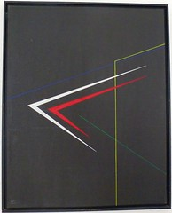 STRASSE BEI NACHT  1984 (HolgerArt) Tags: konstruktivismus gemälde kunst art acryl painting malerei farben abstrakt modern grafisch konstruktiv