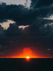 P1091292 (mr. Wood) Tags: ep5 computar olympus cyprus paphos larnaca mediterranian waves sunset sea water sky