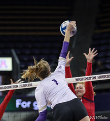 Washington Arizona-FT4I1499 (Pacific Northwest Volleyball Photography) Tags: volleyball ncaa pac12 pac12vb womensvolleyball arizona washington uwhuskies