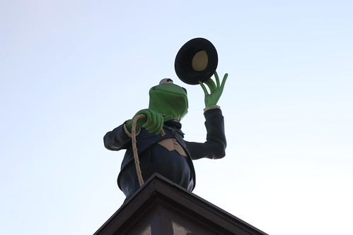 "Kermit the Frog as Charlie Chaplin at the Jim Henson Studios • <a style=""font-size:0.8em;"" href=""http://www.flickr.com/photos/28558260@N04/43986657550/"" target=""_blank"">View on Flickr</a>"