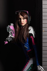D.Va Overwatch (Claude Schildknecht) Tags: ad600pro beautybox broncolor cosplay eurexpo europe france godox japantouch japon lyon manfrotto places dva overwatch