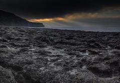 """GREY UNDER FOOT "" (Wiffsmiff23) Tags: glamorganheritagecoastline heritagecoastlinesouthwales cwmnash sunrays dramatic traeth beach"