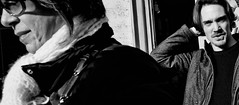 Confused! (Baz 120) Tags: candid candidstreet candidportrait city candidphotography contrast street streetphotography streetphoto streetcandid streetportrait strangers rome roma europe women monochrome monotone mono noiretblanc bw blackandwhite urban life portrait people italy italia grittystreetphotography faces decisivemoment
