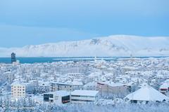 Reykjavik Iceland (Petra Schneider photography) Tags: reykjavik iceland winter winterstimmung winterday winterwonderland snow island islande schnee neige hiver northernmostcapital snowyday perlan