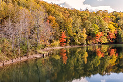 Phillips Creek Recreation Area (Back Road Photography (Kevin W. Jerrell)) Tags: autumn autumnbeauty autumncolors nikond7200 fall fallcolor backroadphotography lakes rivers streams reflections wisecounty pound virginia southwestvirginia