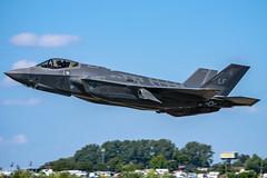 USAF F-35A (lee adcock) Tags: 155125 155125lf 2018 f35a friat lightning lockheed riat tamron150600g2 airshow fairford nikond7200 usaf