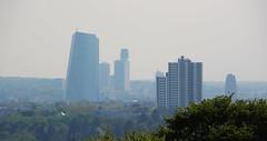 Hochhäuser. (universaldilletant) Tags: frankfurt skyscraper hochhaus ezb