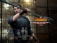 AIW_CA_002 (siuping1018) Tags: hottoys avengers infinitywar captainamerica siuping marvel disney photography actionfigures toy onesixthscale canon 5dmarkii 50mm
