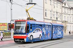 BTS_7118_201811 (Tram Photos) Tags: ckd tatra k2s bratislava dopravnýpodnikbratislava dpb strasenbahn tram tramway električková mhd električka vollwerbung ganzreklame