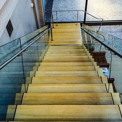 Watch Your Setp (Thomas Hawk) Tags: california ferrybuilding sanfrancisco usa unitedstates unitedstatesofamerica stairs