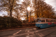 Destination Gothenburg (Fredrik Lindedal) Tags: tram train autumn trees lights sweden sverige gothenburg göteborg lindedal