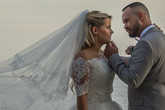 eye to eye (stevefge) Tags: 2018 france laciotat mediteranean provence people unsuspectingprotagonists candid wedding brides groom veil portrait reflectyourworld