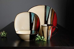 Gibson Elite 16 Piece Althea Reactive Glaze Dinnerware, Multicolor (katalaynet) Tags: follow happy me fun photooftheday beautiful love friends