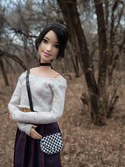 В дальнем углу парка (Busia Slonson) Tags: dolls dollphoto dollcollector doll dollclothies dollwalk