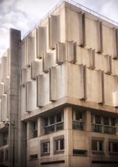 Brutalism strikes again rue Poncelet (marc.barrot) Tags: façade building architecture brutalism france paris 75017 rueponcelet shotoniphone