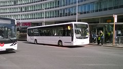 Atlantic Travel YJ58FFG 29092018b (Rossendalian2013) Tags: atlantictravelbolton bus manchester piccadilly railway station railreplacement northern arrivarailnorth vdl sb200 yj58ffg arrivanortheast arrivamalta plaxton centro
