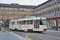 Torino, Piazza Castello 14.01.2018 (The STB) Tags: tram tramway strassenbahn strasenbahn tranvía tranvia torino turin trasportopubblico publictransport citytransport öpnv