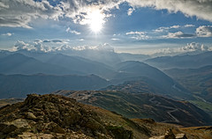 View on Svanetti from the mountain (finkel1024) Tags:
