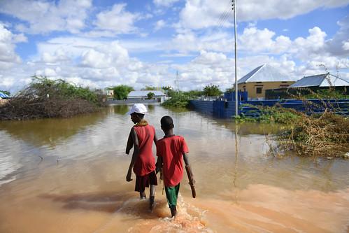 Flooding in Belet Weyne, Somalia