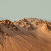 Gullies on Hills in Center of Hale Crater on Mars