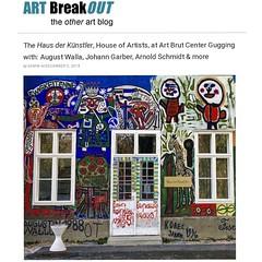 At the House of Artists at Art Brut Center Gugging (LoisInWonderland) Tags: hausderkunstler houseofartists gugging artbrutcentergugging augustwalla johanngarber rawart outsiderart artbrut muralart austria