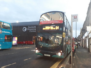Newly branded Arriva north east 7415 on the 54