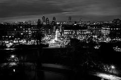 """le calme et la tournente Paris """"calm and turmoil"""" (laurent.triboulois) Tags: city ville paris street ciel balckandwhite nigth nuit"""
